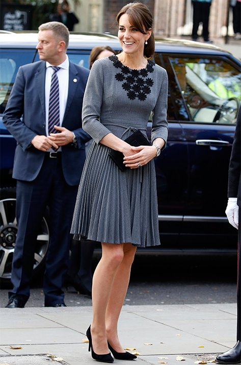 Duchess of Cambridge wearing Gilbert